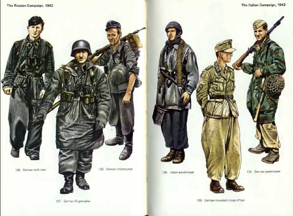 Italian Army Uniform Ww2 Blandford - army uniforms of